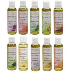 Zestaw 4 naturalnych olejków do masażu Subtle Beauty