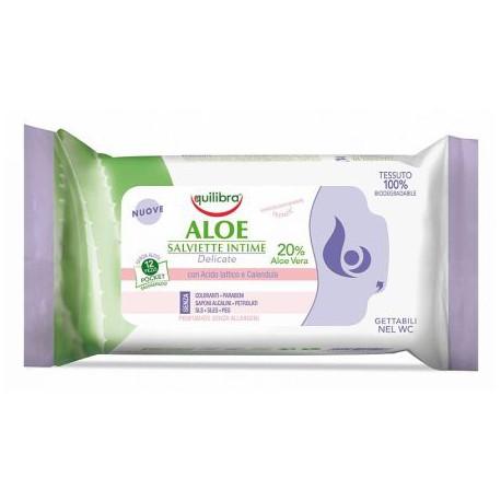 Aloesowe chusteczki do higieny intymnej