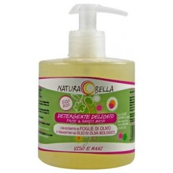 Delikatny płyn do mycia twarzy i rąk z ekstraktem z liści oliwnych