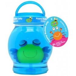 Niebieska galaretka do kąpieli dla dzieci
