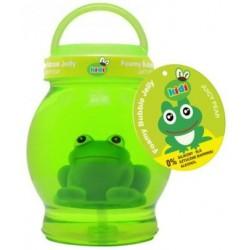 Zielona galaretka do kąpieli dla dzieci