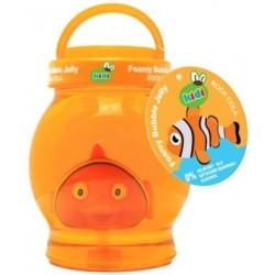 Pomarańczowa galaretka do kąpieli dla dzieci