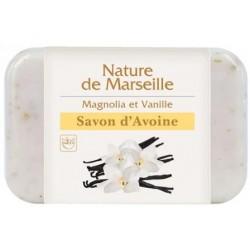 Mydło owsiane Nature de Marseille MAGNOLIA I WANILIA