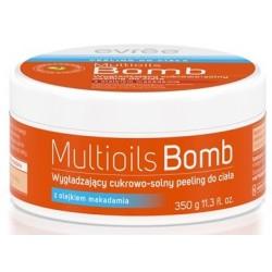 Solno-cukrowy peeling do ciała MULTIOILS BOMB