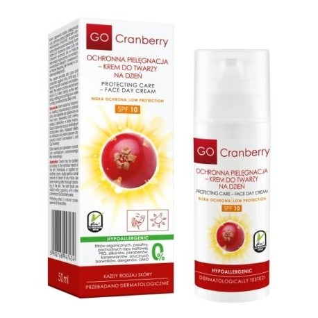 Krem ochronny do twarzy GO Cranberry