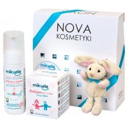 Zestaw kosmetyków dla dzieci MIKKOLO Beztroski kokos