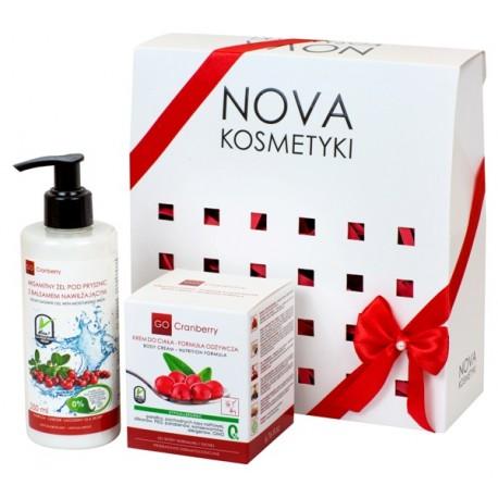 Zestaw kosmetyków żurawinowych GoCranberry Aksamitna Pielęgnacja