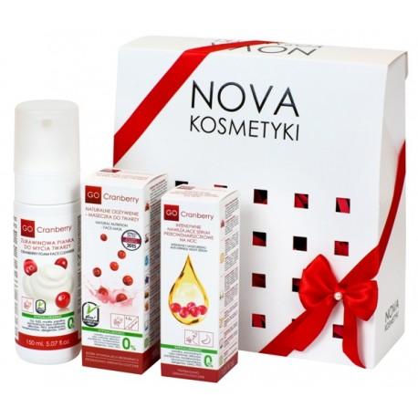 Zestaw kosmetyków żurawinowych GoCranberry Zmysłowa Lekkość