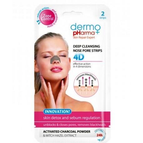 Oczyszczające plastry na nos