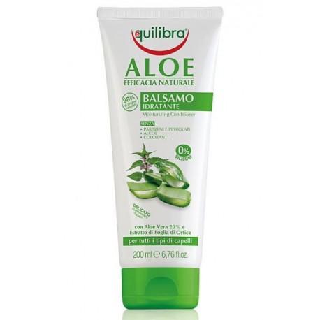 Nawilżająca odżywka do włosów z aloesem