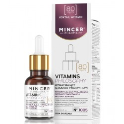 Przeciwzmarszczkowe serum do twarzy i szyi VITAMIN PHILOSOPHY