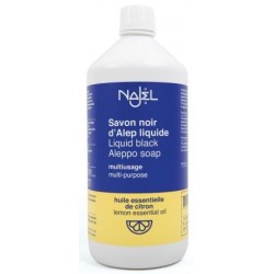 Czarne mydło cytrynowe Najel GOSPODARCZE