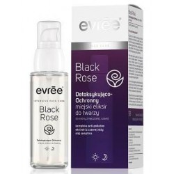 Detoksykująco - ochronny eliksir do twarzy BLACK ROSE