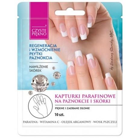 Parafinowe kapturki na paznokcie i skórki CZYSTE PIĘKNO
