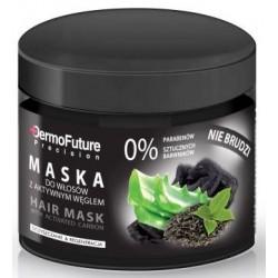 Maska do włosów z aktywnym węglem
