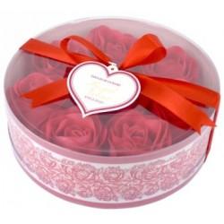 Różane konfetti do kąpieli CZERWONE