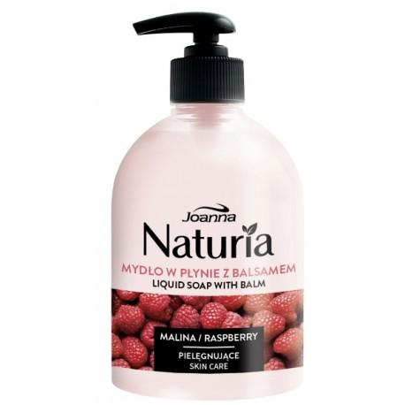 Mydło w płynie z balsamem MALINA NATURIA