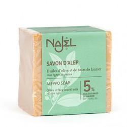 Mydło z Aleppo 5% Najel