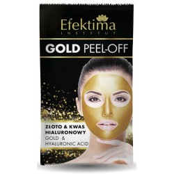 Maska do twarzy GOLD PEEL-OFF