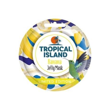 Żelowa maseczka do twarzy BANANA TROPICAL ISLAND