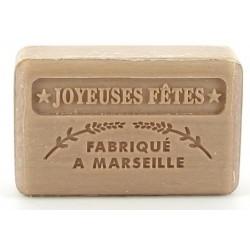 Marsylskie mydło WESOŁYCH ŚWIĄT złote