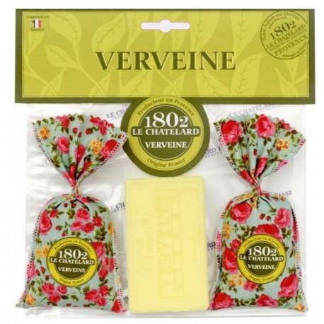 Zestaw: 2 woreczki zapachowe i mydło WERBENA