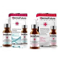 DERMO FUTURE Zestaw serum z kwasem hialuronowy + serum z nanopeptydami