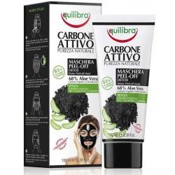 Oczyszczająca maska do twarzy peel-off z aktywnym węglem