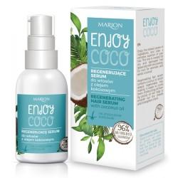 Regenerujące serum do włosów z olejem kokosowym ENJOY COCO