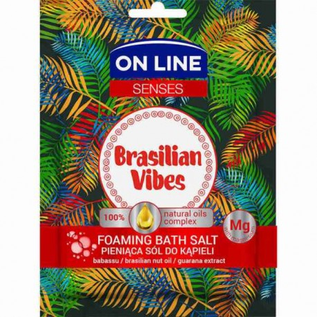 Pieniąca sól do kąpieli BRASILIAN VIBES 80
