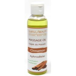 Naturalny olejek do masażu afrodyzjak CYNAMON
