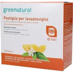 Cytrusowe tabletki do zmywarki GREENATURAL