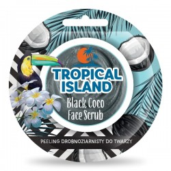 Peeling do twarzy BLACK COCO TROPICAL ISLAND
