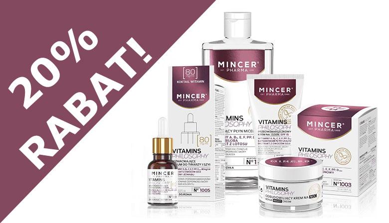 Kosmetyki MinverPharma Vitamins promocja