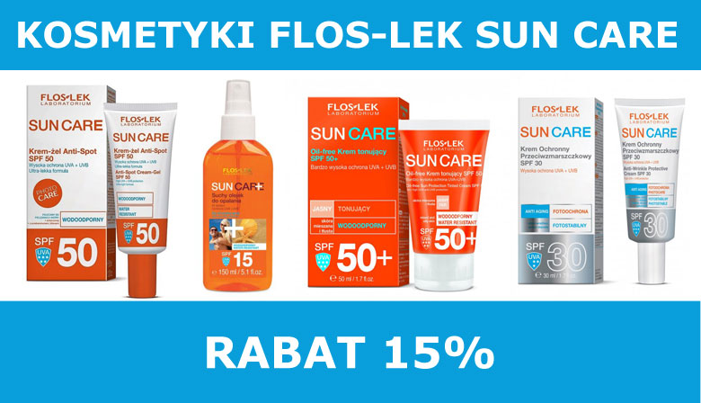 Kosmetyki do opalania FLOSLEK Sun Care