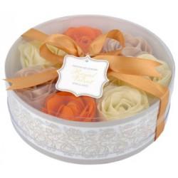 Waniliowe konfetti do kąpieli w kształcie róż