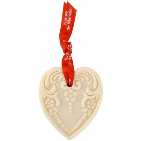 Ozdobne mydło w kształcie serca