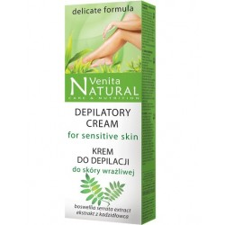 Krem do depilacji dla skóry wrażliwej VENITA NATURAL