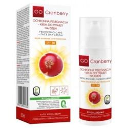 Krem ochronny do twarzy SPF 10 GoCranberry - WYPRZEDAŻ