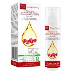 Intensywnie nawilżające serum przeciwzmarszczkowe na noc GoCranberry - WYPRZEDAŻ