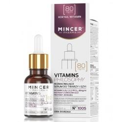 Przeciwzmarszczkowe serum do twarzy i szyi VITAMIN PHILOSOPHY 1005