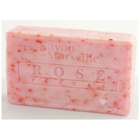 Prostokątne mydło marsylskie z olejkiem migdałowym ROSE