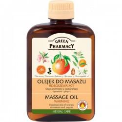Rozgrzewający olejek do masażu