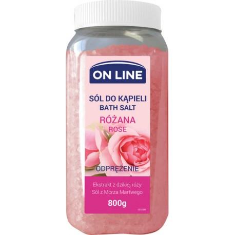 Sól do kąpieli RÓŻA ON LINE
