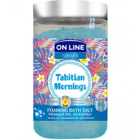 Pieniąca sól do kąpieli TAHITAN MORNINGS
