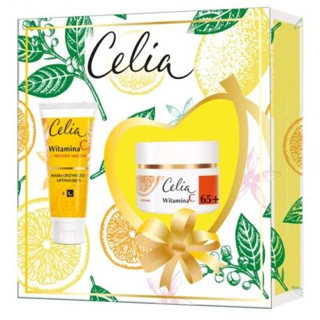 Zestaw kosmetyków 65+ CELIA z witaminą C