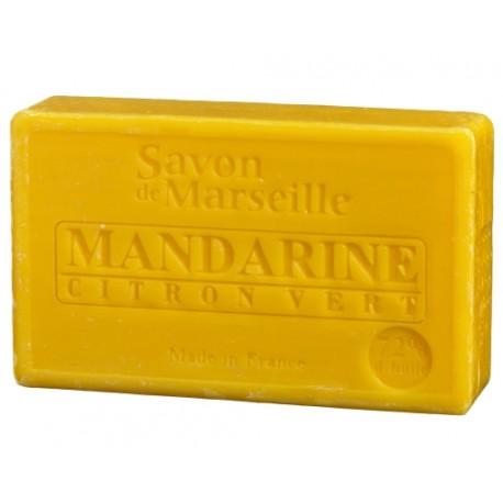 Prostokątne mydło marsylskie z olejkiem migdałowym ANANAS i MANGO