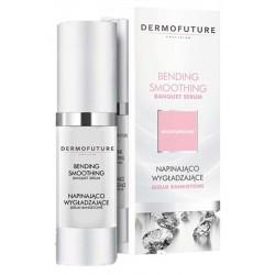 Napinająco-wygładzające serum bankietowe do twarzy DermoFuture