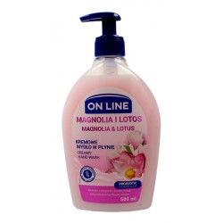 Kremowe mydło w płynie MAGNOLIA I LOTOS ON LINE