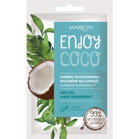 Zabieg olejowania włosów ENJOY COCO